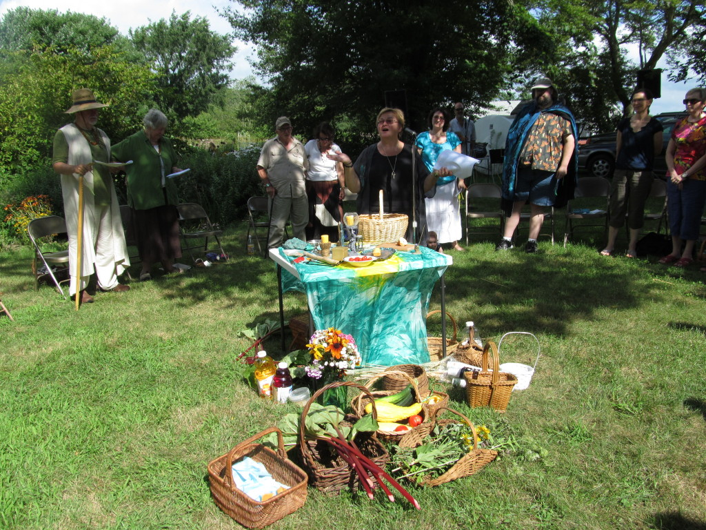 CUUPS Lughnassah Ritual at Soule Homestead, August 2012
