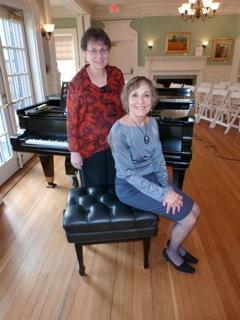 Featuring Stephanie Miele as vocalist  with piano accompanist Lucy Banner